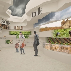 A scenographer appointed to the Cité des Vins in Chablis and Mâcon